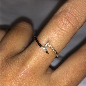 Diamond Nail Ring - NEW!!!